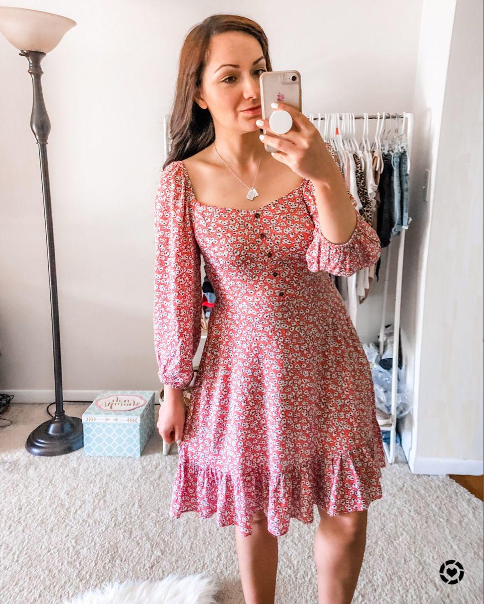 Red Walmart Long Sleeve Dress Fashion Dresses Walmart Fashion [ 1200 x 961 Pixel ]
