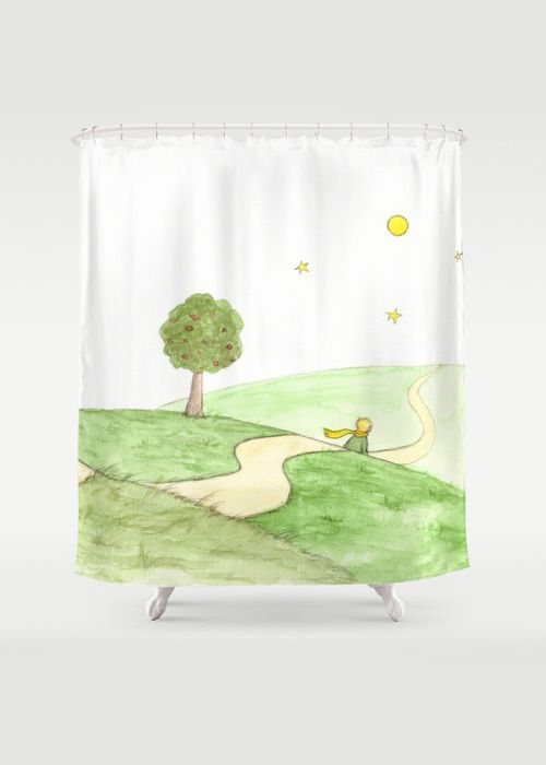 Le Petit Prince Shower Curtain By Savousepate On Society6