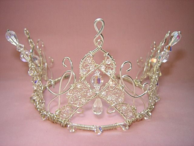 wire crowns and circlets | Home :: Princess Crowns :: Crown Tiara
