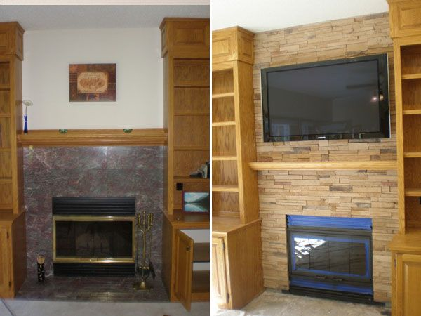 Before And After Pictures Twin City Fireplace And Stone Company