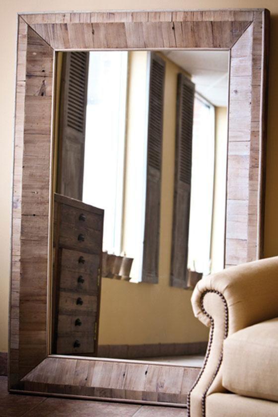 love oversize leaning floor mirrors | home sweet home | Pinterest ...