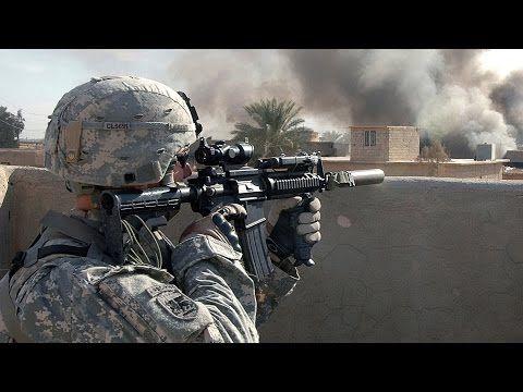 US Soldiers in Iraq  Rare Combat Footage - Intense Firefights | Iraq