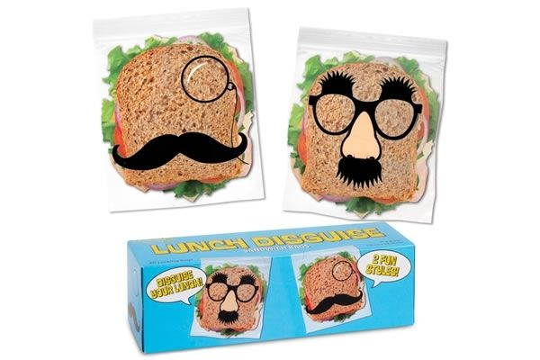 Lunch Disguise Sandwich Bags - For the lunches that have to get thrown away during field trips. PD