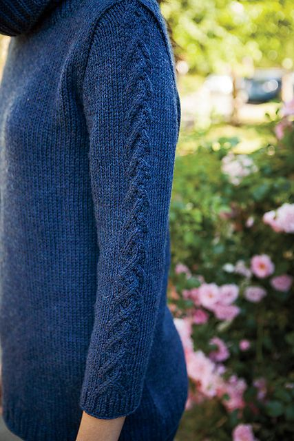 Yuri Pullover pattern by Hilary Smith Callis
