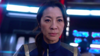 CBS All Access' long-anticipated new 'Star Trek' drama premieres with episodes that waver in selling the show but feature a convincing Sonequa Martin-Green.