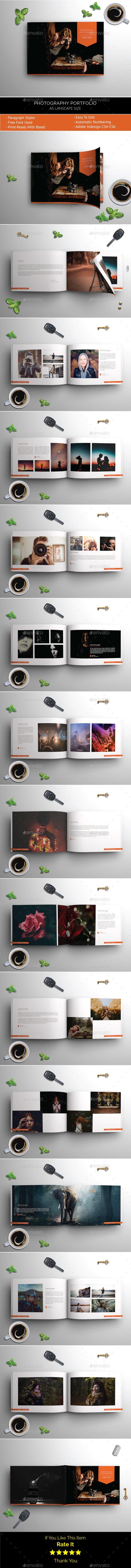 graphy Portfolio Albums Print Templates