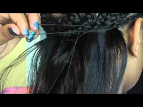 basic sew in start to finish youtube the finished product sew in easy way to properly sew in weaveextensions yourself my way tutorial solutioingenieria Image collections