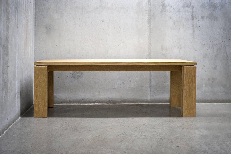 solid white oak bench as2 ffe interiors pinterest oak