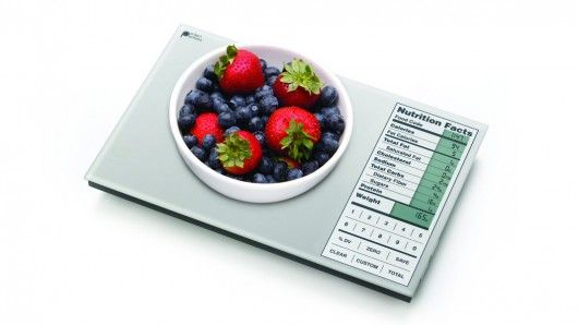 Perfect Portions Food Scale Features A Built In Nutrition Guide