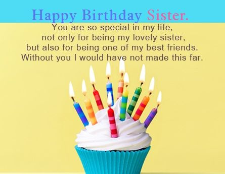 sister birthday wishes