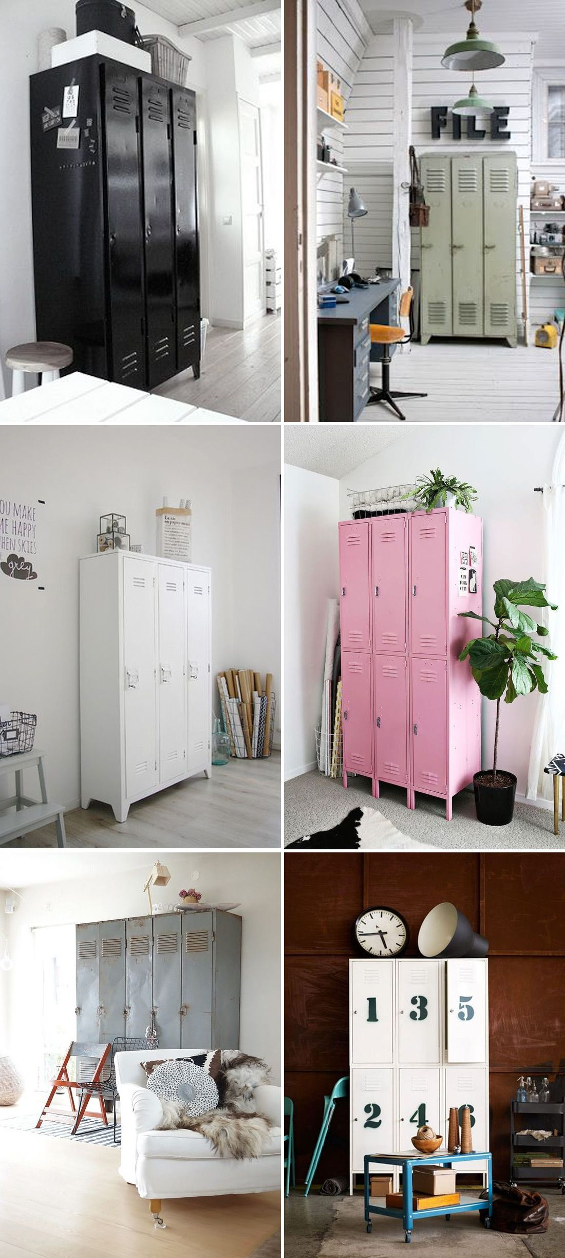 Elegant Gym Lockers for Home