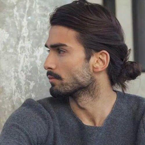 Long Hair Gaya Rambut Potongan Rambut Pria Rambut Pria