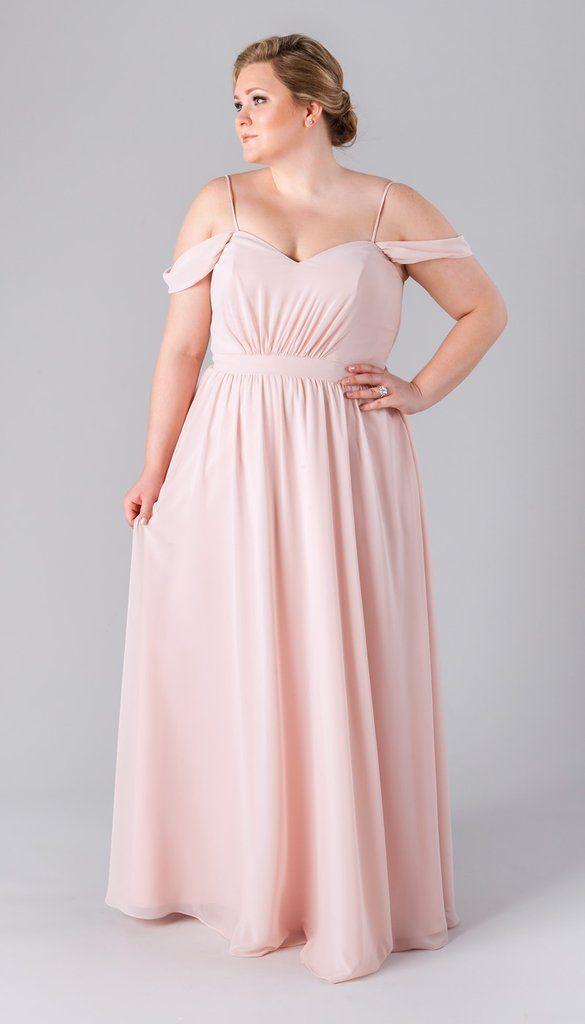 Kennedy Blue Plus Size Boho Bridesmaid Dress