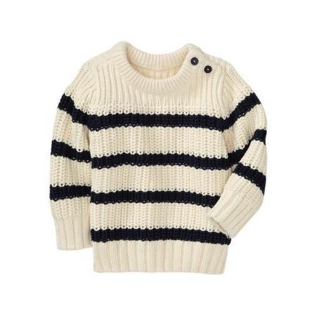 Gap Striped Pullover Sweater