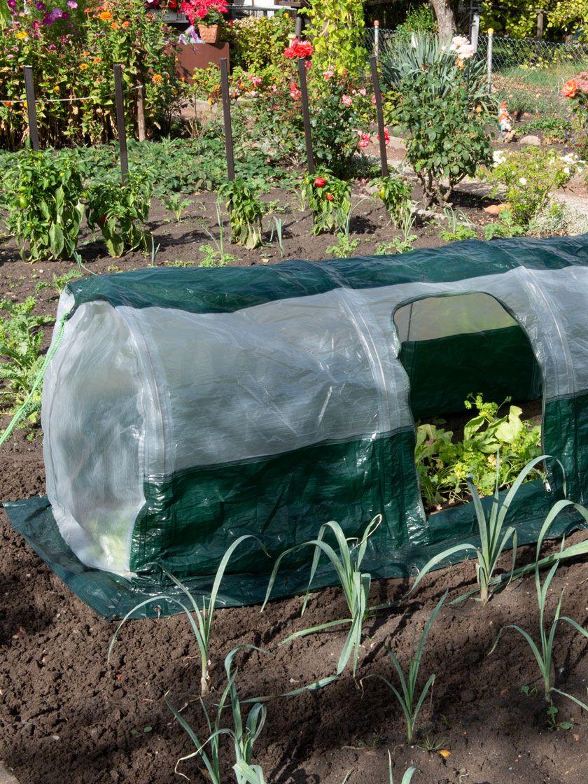 Super Dome Protection Tunnel Gardener S Supply Garden Supplies