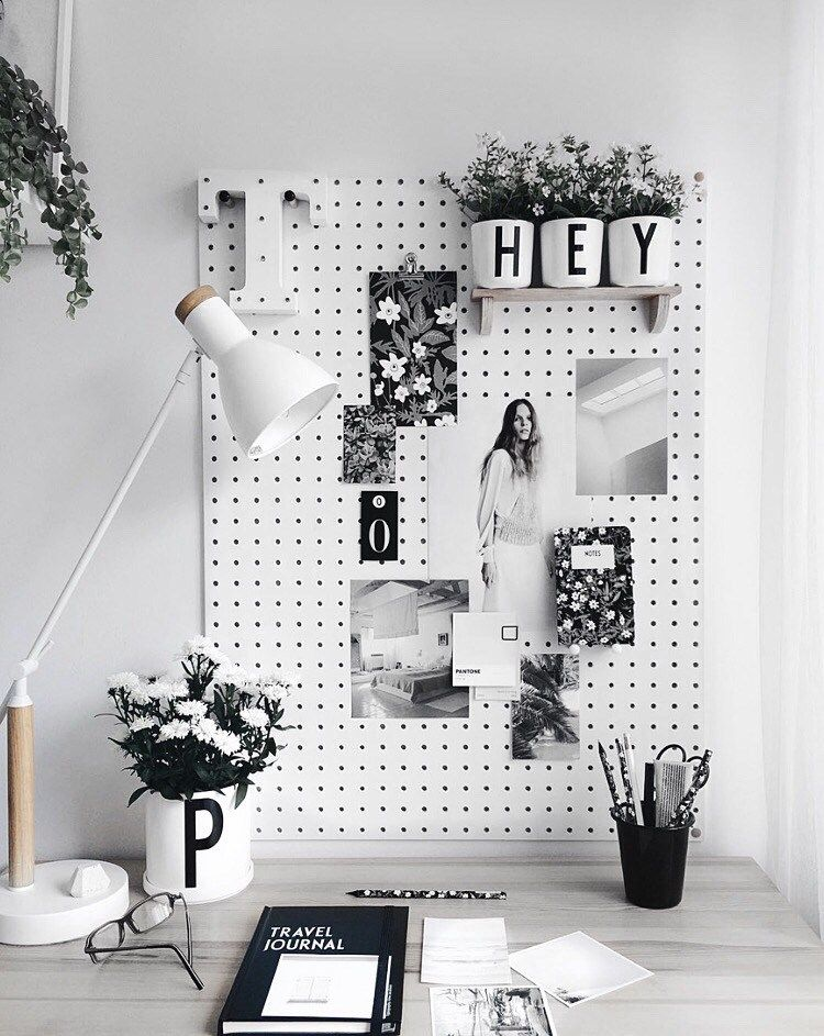 Home Office Ideas White