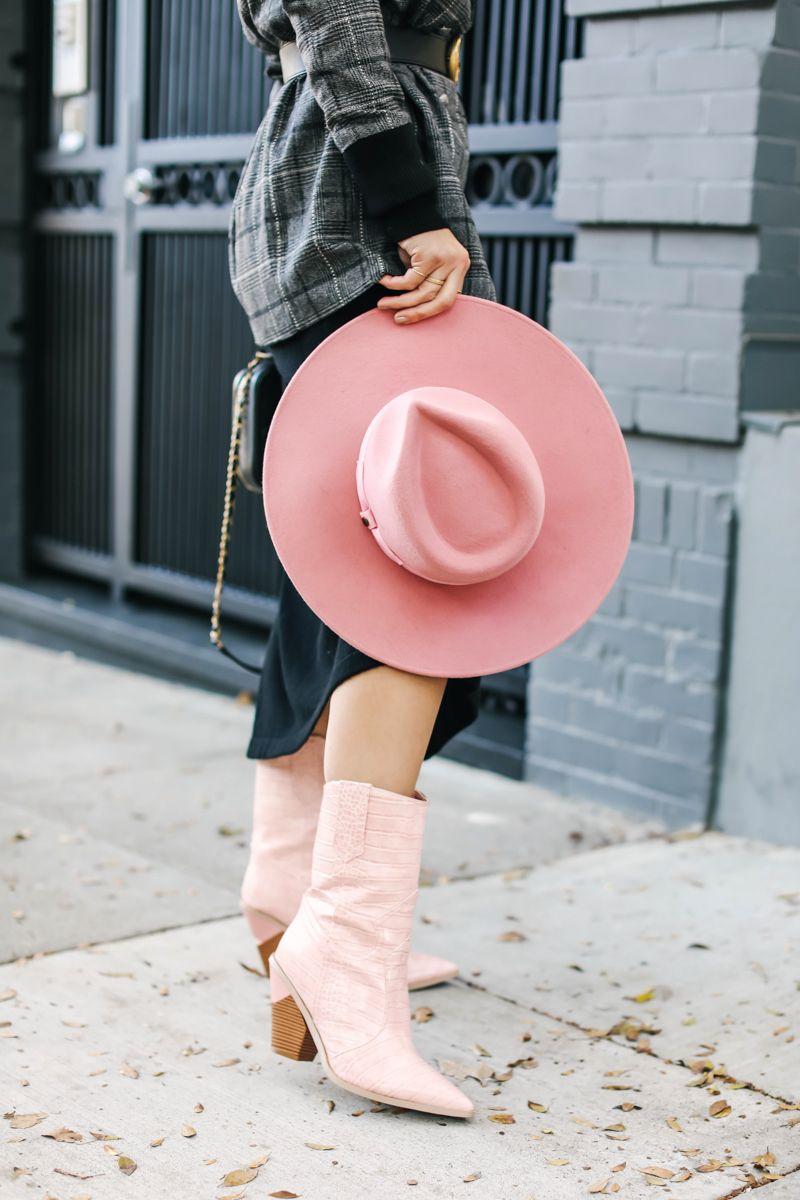 6c9daaf5 Pink Wide Brim Hat   Shoes x CBL   Wide brimmed hats, Wide-brim hat ...