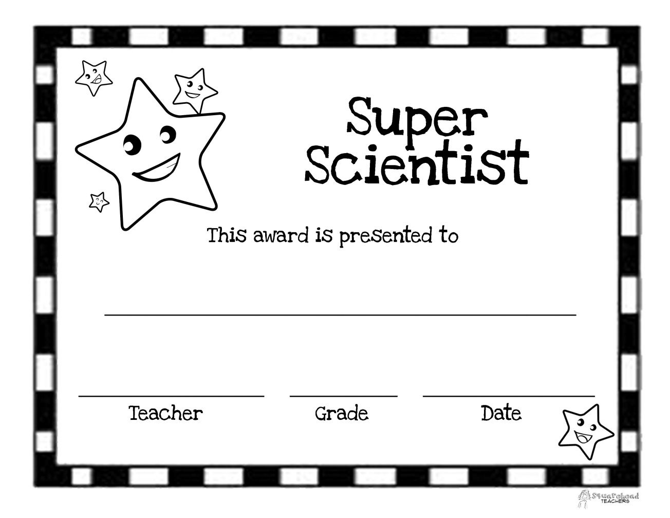 Super scientist award last days of school pinterest super scientist award 1betcityfo Image collections