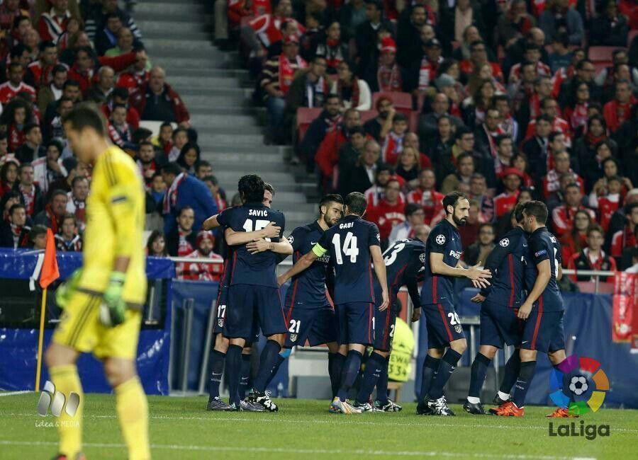 Gol en Lisboa