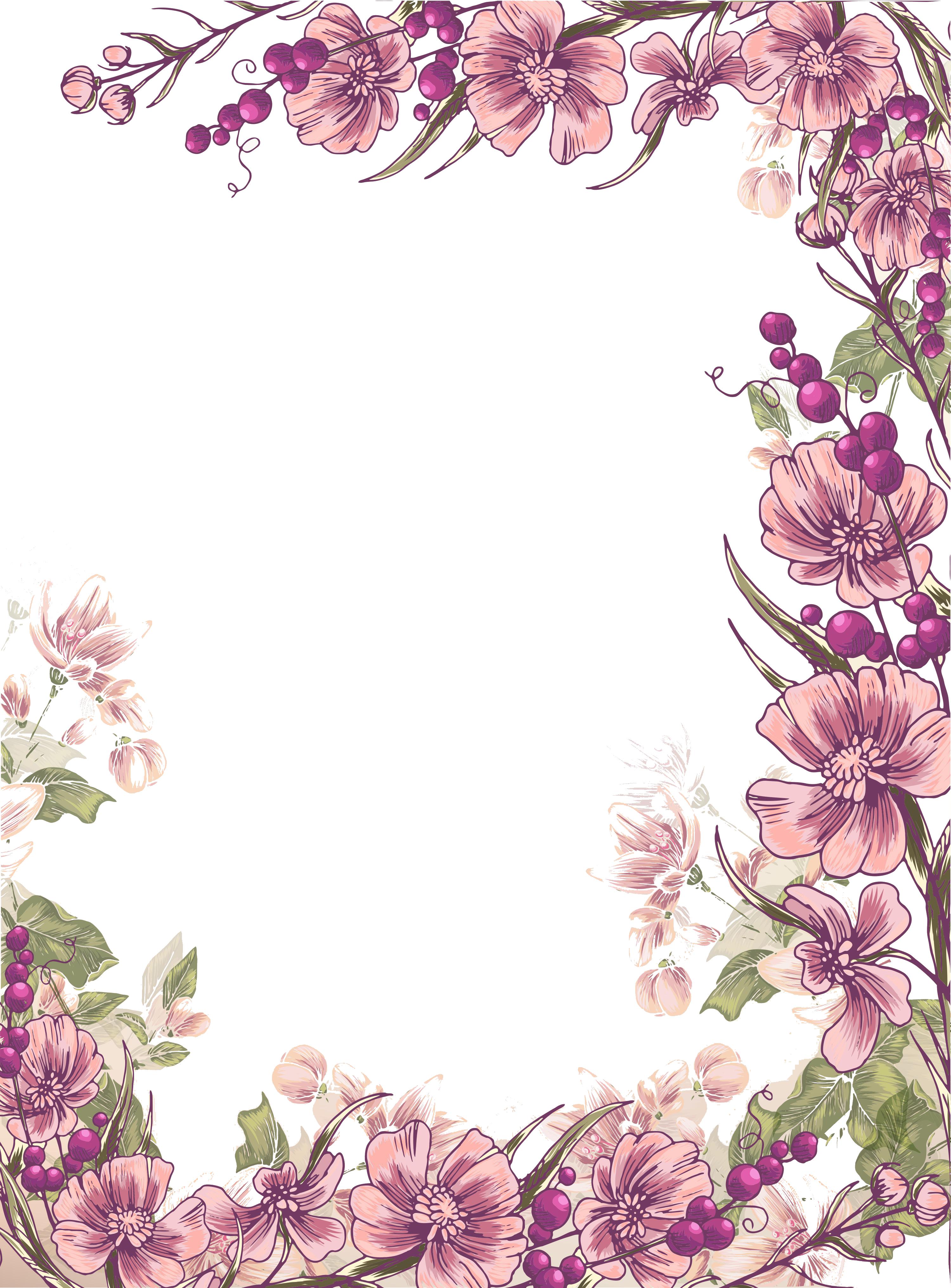 Великой, картинки цветы рамки