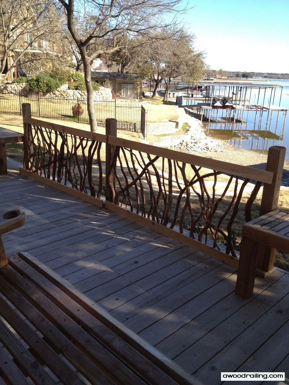 Inspirational Rustic Balcony Railings
