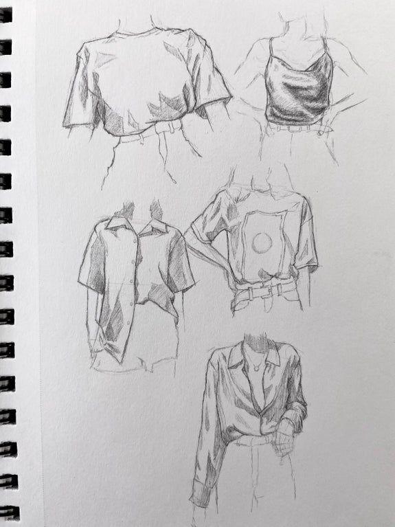 Photo of Shirt sketches