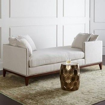 Estelle Chaise Lounge In Cream Is Alluring Furniture Unit For Inducing  Astonishing Charm To The Simple