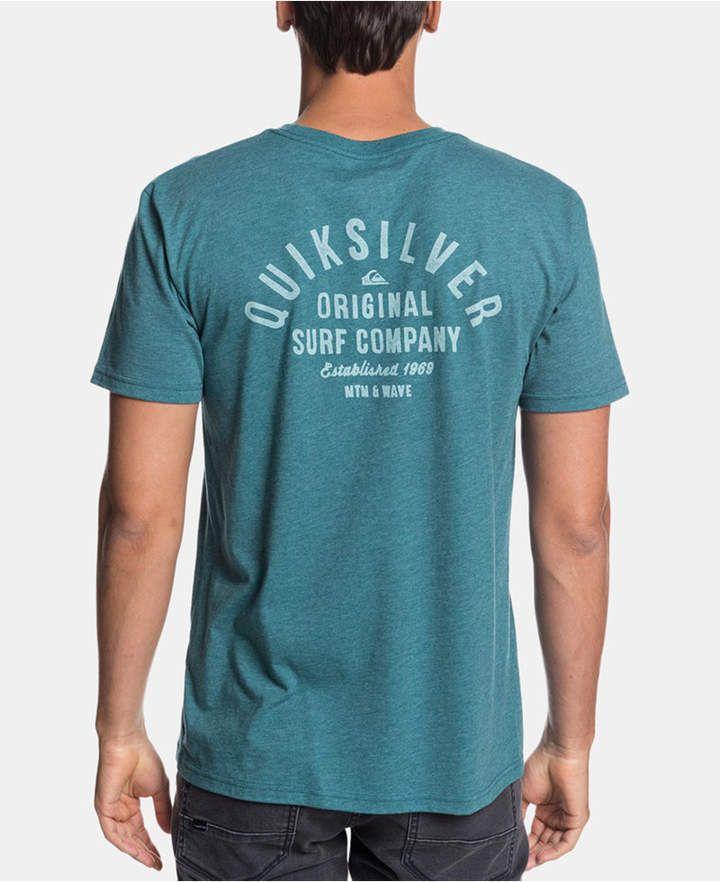 e7f4b0df85 Quiksilver Men Logo Graphic T-Shirt in 2019 | Products | Man logo ...