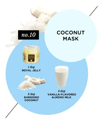 Homemade Face Mask No 6 Quenching Coconut