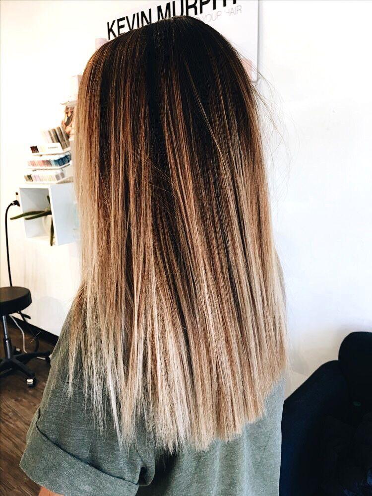 P I N T E R E S T Jacquerosee Balayage Straight Hair Hair Styles Long Hair Styles