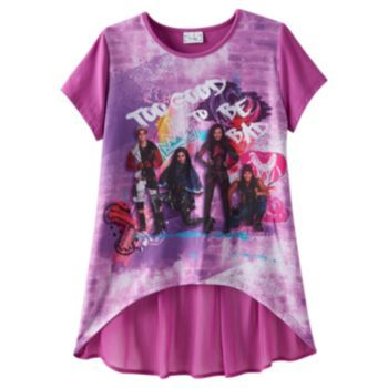 Disney D Signed Too Good To Be Bad Descendants Tee