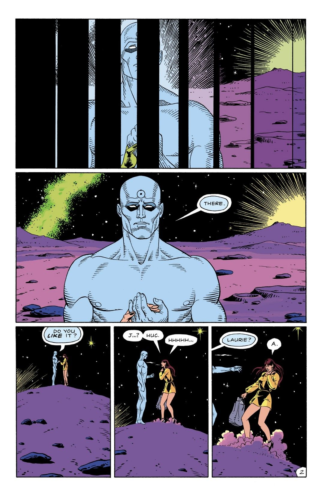 Watchmen 9 Of 12 Art Watchmen Art Pictures