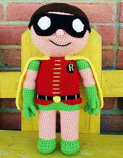 Crochet Super Hero Free Pattern - thefriendlyredfox.com   320x249