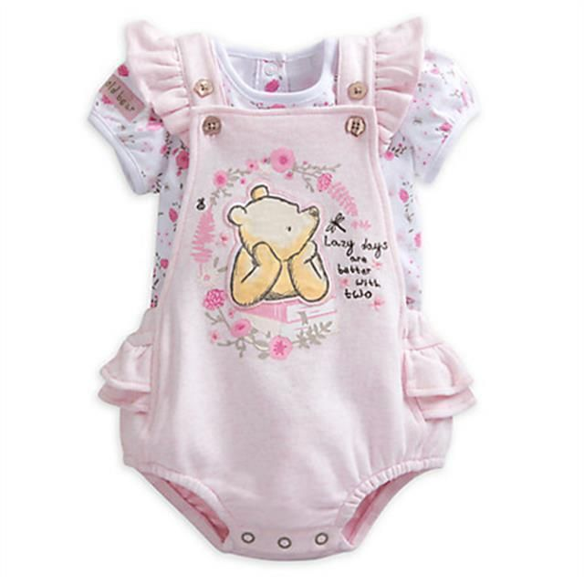 201b84681ec9 Winnie the Pooh Baby Romper and Top Set Baby Girl Disney 18-24 Months   Disney  RomperandTopSet  Everyday