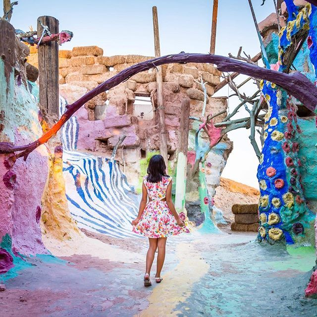 Instagram Photo By Sidewalkerdaily Feb 5 2016 At 1 24pm Utc Desert Travel Salvation Mountain Travel