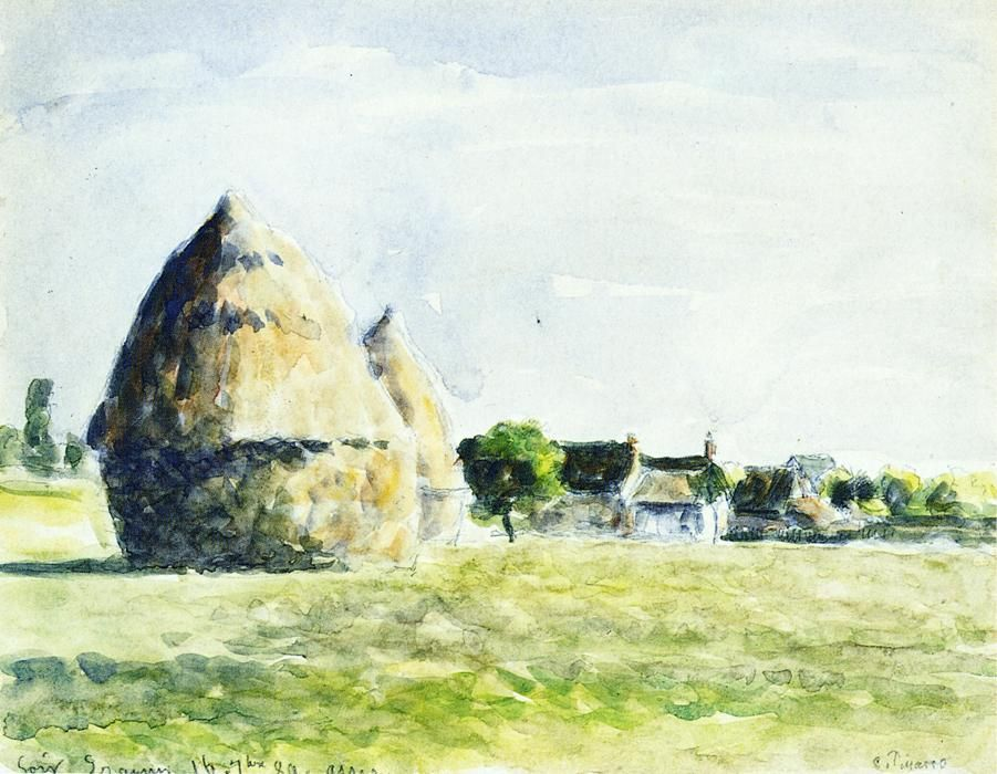 Jacob Abraham Camille Pissarro 1830 1903 Danish French Impressionist And Neo Impressionist Painter 723