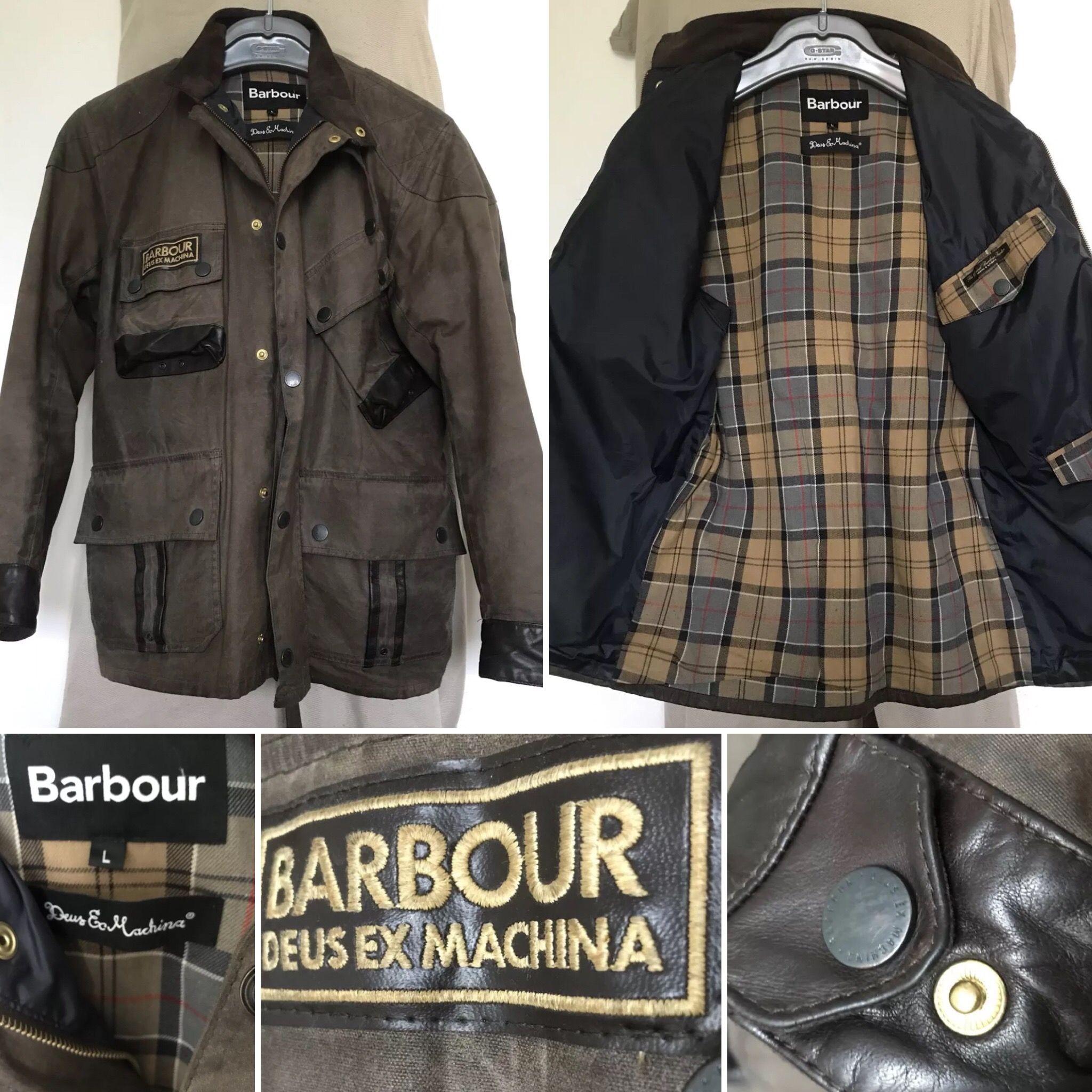 Vestiti Da Uomo · BARBOUR International DEUS EX MACHINA Modell  Hurstville  Hickory. Deus Ex Machina 7712a79885d