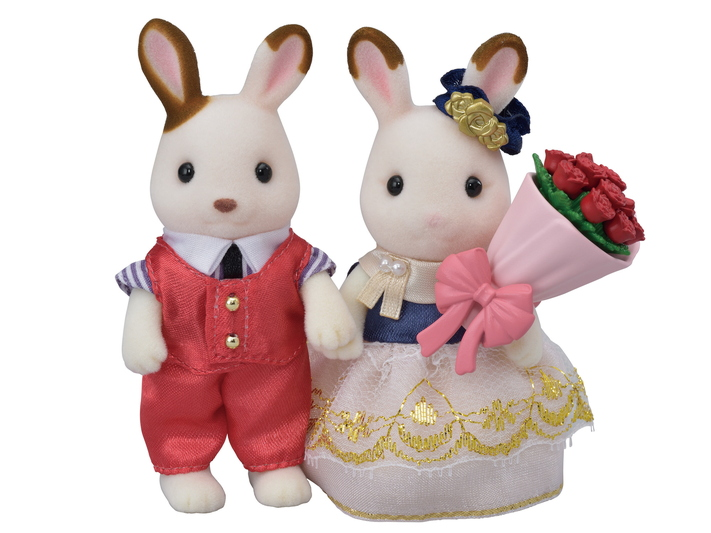 Sylvanian Families Fan Club FIGURE /& COLLECTORS GIFT BOX 2018 Chocolate Rabbit