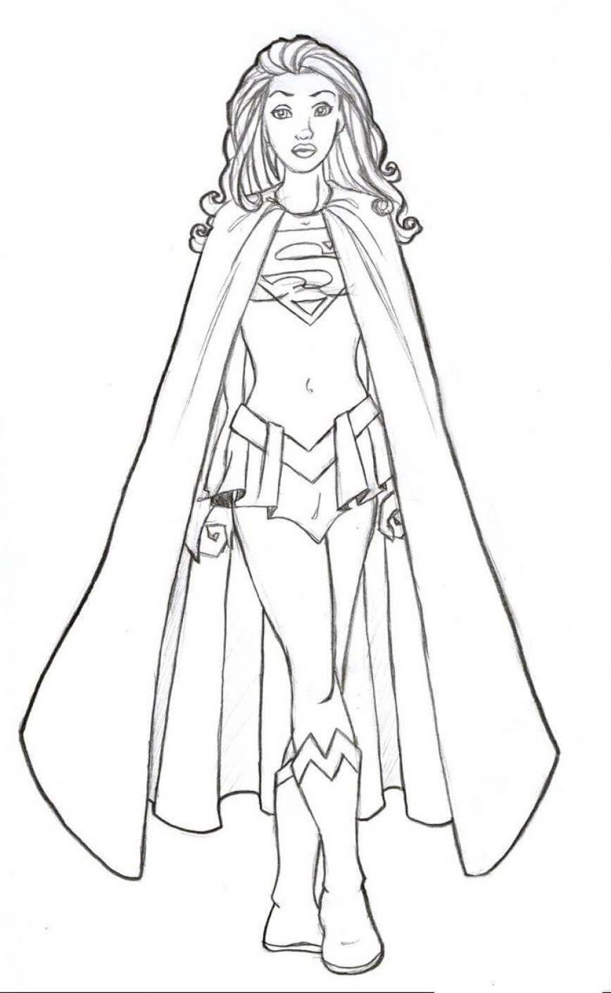 9 Supergirl Com Imagens Supergirl Desenho Desenhos Supergirl