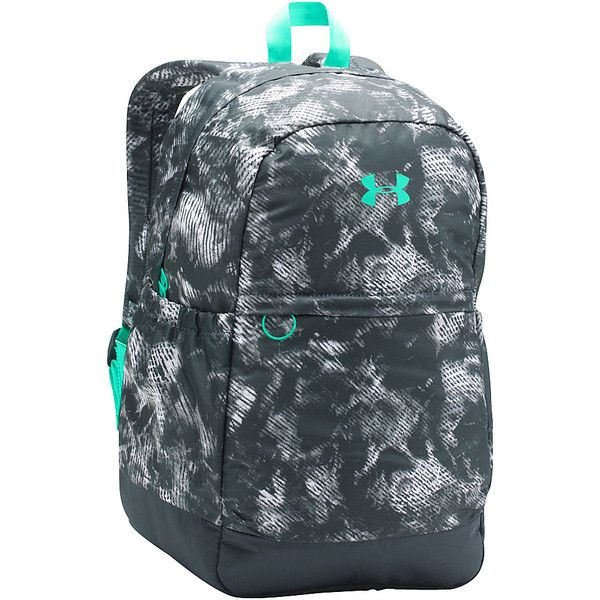 5378bf35400 Under Armour Girls Favorite Backpack ( 36) ❤ liked on Polyvore featuring  bags, backpacks, grey, padded backpack, day pack backpack, multi pocket bag,  under ...