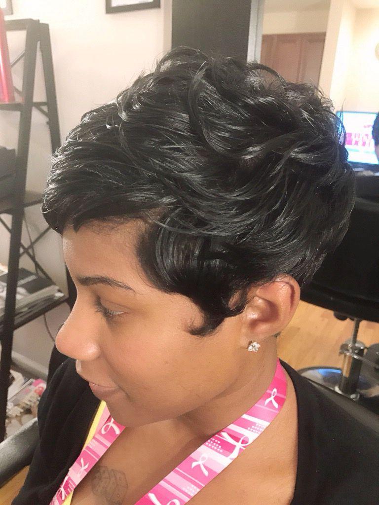 Hair by Raijona B.  Short hair styles, Short sassy hair, Hair styles