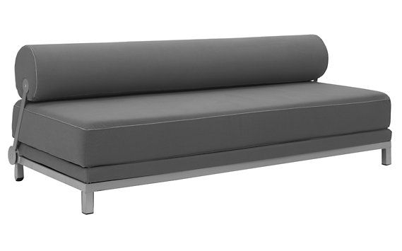 comfy sofa, convertible to a sleeping sofa