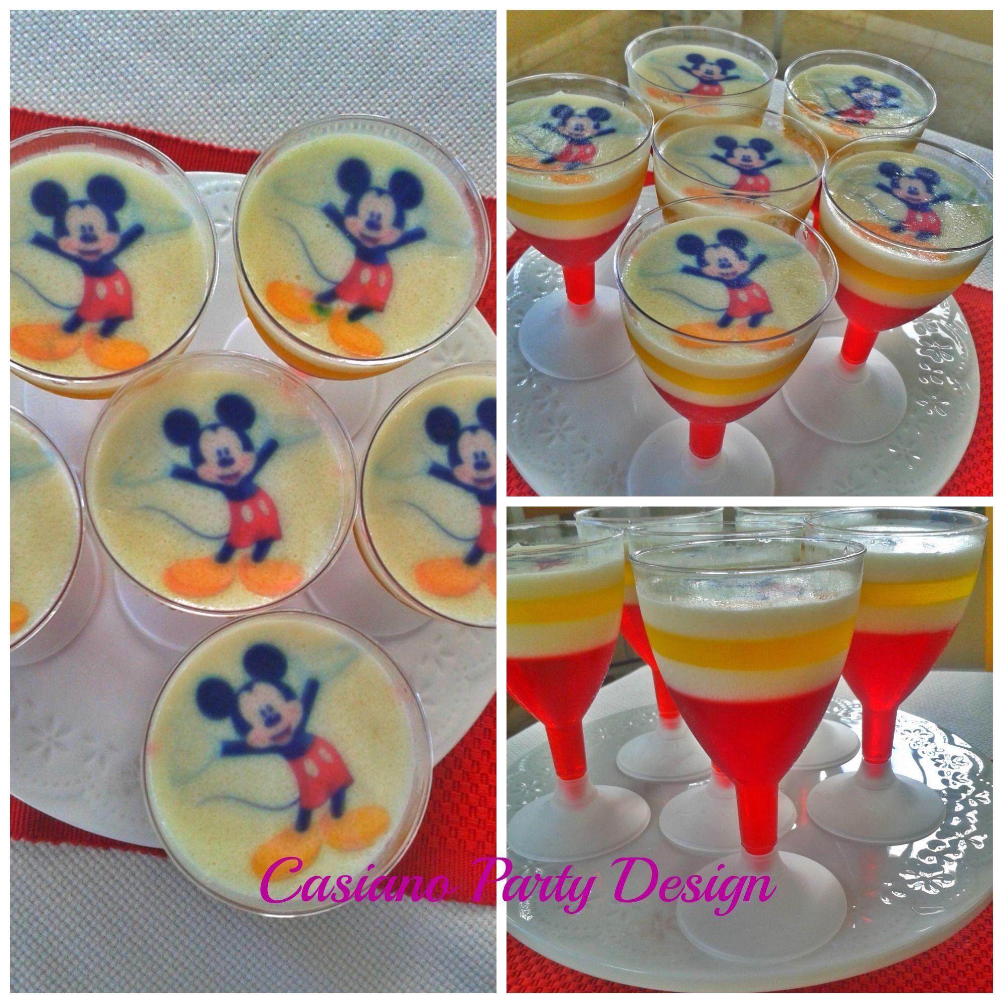 Gelatinas Mickey Mouse Party Design Mickey