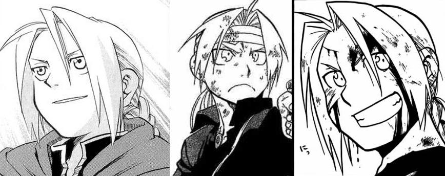Fullmetal Alchemist VSA Manga Evolution