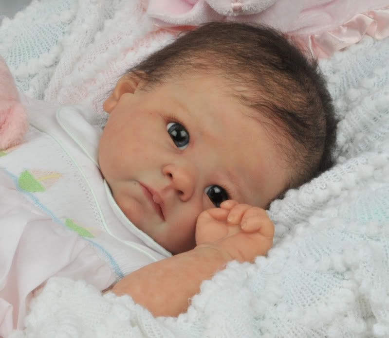 Forever Wee Ones Beautiful Reborn Baby Mottled