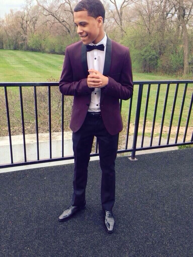Black dress under graduation gown - This Tux Or Suit Is Very Classy As Well He Is Dresses Is Gloss Black