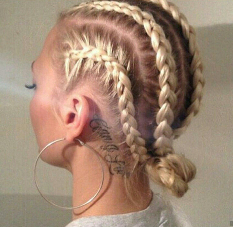 Cornrow Boxer Braids Natural Hair Hair Styles Cornrow Hairstyles White Braided Hairstyles