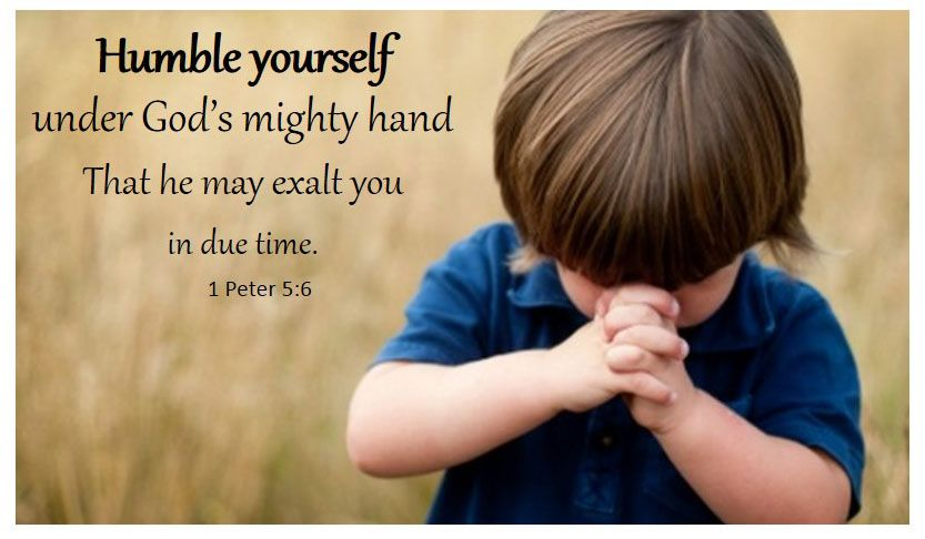 Image result for humble yourself before the lord kjv