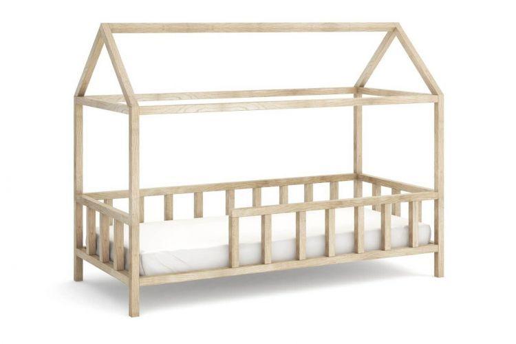 Kinderbett Kinder Hausbett Mit Rausfallschutz Holz Bett Kinder Bett Hausbett Kinderbett