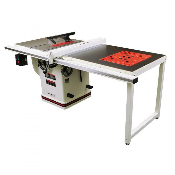 Jet 174 Deluxe Xacta 5hp 10 Table Saw W 50 Fence